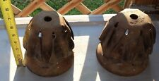 Vtg Pair of JOSLYN Electric/Telephone J0870 Heavy-Duty POLE expansion Anchors