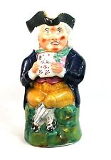 Antique Victorian Staffordshire Toby Jug Holding A Jug