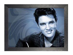 Elvis Presley 8 Rock And Roll Legend Poster Smile Photo Music Handsome Star