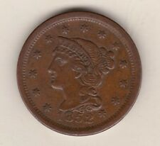 More details for usa 1852 large one cent in very fine condition.