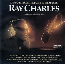 RAY CHARLES : UNVERGESSLICHE SONGS / CD - TOP-ZUSTAND