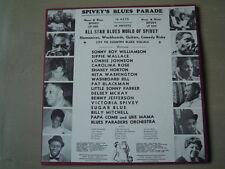 Various - SPIVEY'S BLUES PARADE (Lp) Press USA 1970 NEW