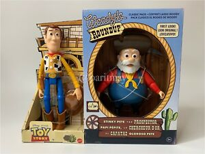 NEW!!! Toy Story Woody's Roundup 2 Packs Woody & Stinky Pete (SHIP NOW)