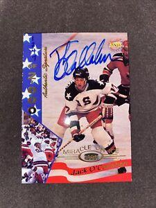 "1995 Signature Rookies ""Miracle On Ice"" Jack O'Callahan #24 Auto /2000"