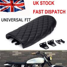 Cafe Racer Motorcycle Motorbike Seat Retro Scrambler Hump Seats Universal Black