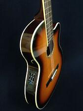Caraya 551BCEQ/BS Thin body Acoustic-Electric Classical Guitar,Sunburst+Free Bag