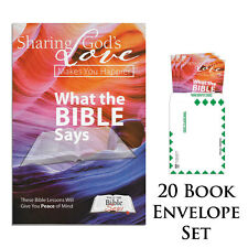 What The Bible Says (20 Book Envelope Set)