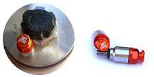 BOCAST Gabelentlüfter orange für KTM SX SX-F EXC WP Marzochi Gabelentlüftung M4