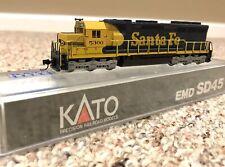 KATO N Scale #176-311 ATSF SANTA FE EMD SD45 Locomotive #5300