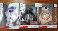 Disney Store STAR WARS Droids BB-9E BB-8 & R2-D2 Talking Action Figure SET *NIB