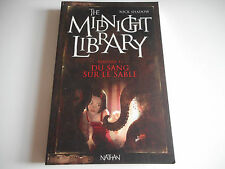 THE MIDNIGHT LIBRARY VOL II - DU SANG SUR LE SABLE - NICK SHADOW