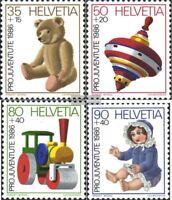 Schweiz 1331-1334 (kompl.Ausg.) FDC 1986 Pro Juventute