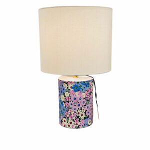 Kate Spade New York Watercolor Floral Phlox Table Lamp with Shade