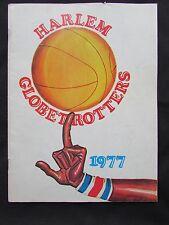 1977 Harlem Globetrotters Souvenir Program - Meadowlark Lemon -  Curly Neal