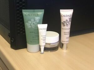 caudalie travel sized facial skincare bundle new
