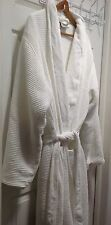 Pottery Barn Waffle Weave White Resort Robe SZ X-Large - SUPER Condition