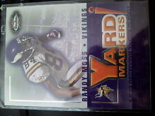 2002 Fleer Box Score #3 of 20YM Randy Moss Yard Markers