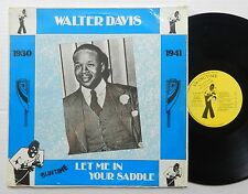 WALTER DAVIS Let Me In Your Saddle LP Import