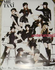 Girls' Generation The Boys MR. TAXI Version Taiwan Promo Poster