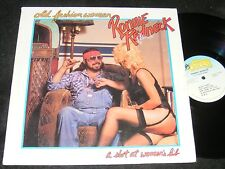 Sexy Cvr STRANGE Private Issue Hard Rock Lp RONNIE REDNECK Autographed Old WOMAN