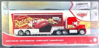 Disney Pixar Cars Mack Hauler 95 Lightning McQueen Toy Truck & Trailer*Free Ship