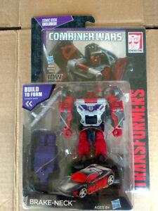 Transformers Combiner Wars Brake-Neck Wildrider Stunticons Menasor Deluxe class