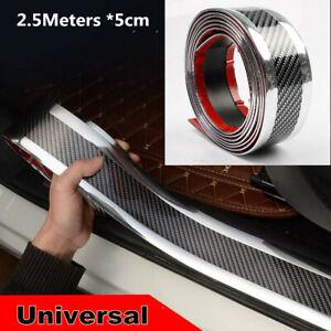 2.5M*5cm Silver Side Car Door Sill/Bumper/Trunk Sill/Fender/Side Skirt Protector