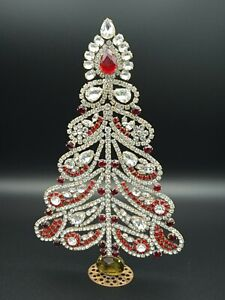 333 Christmas tree, Christmas decoration,Czech vintage, Gablonz, Weihnachtsbaum