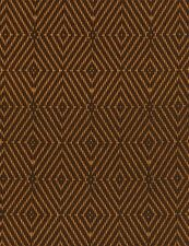 Timeless Treasures African Sunset C3975 Brown Basket Weave Geo Cotton BTY