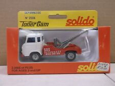 Solido Toner Gam White & Red Tow Truck Depanneuse No.2006 Metal