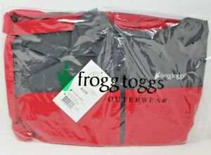 Frogg Togg Pilot Technical Hoodie Carbon RED XL PFH63165-710XL Extra Large New