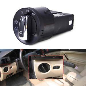 3BD941531 Chrome-Plated Headlight Switch For Volkswagen Passat B5 B5.5 Golf Bora