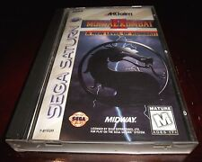 Mortal Kombat II   (Sega Saturn, 1996)   COMPLETE MK2 GAME IN CASE WITH MANUAL