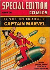 Captain Marvel Special Edition Comics #1 Photocopy Comic Book