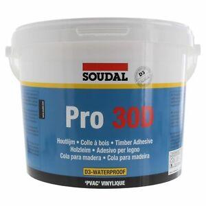 SOUDAL Holzleim Pro 30D wasserfest 5 kg