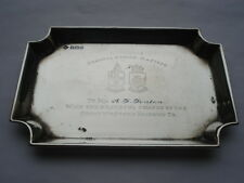 SCARCE G.W.R.GENERAL STRIKE MAY 1926 SILVER PIN DISH TO MR A.J.FENTON FROM G.W.R