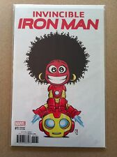INVINCIBLE IRON MAN V.3 #1 SKOTTIE YOUNG VARIANT IRONHEART NM 1ST PRINTING 2016