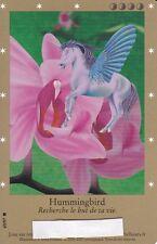 CARTE BELLA SARA - HUMMINGBIRD - 69/97 - EDITION DE BASE - RARE -