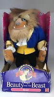 "Disney's Beauty and the Beast Plush Doll ""Beast"""