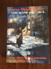 """John McLaughlin """"This is the Way I do It"""" Guitar Instructional 3 DVD Boxed Set"""