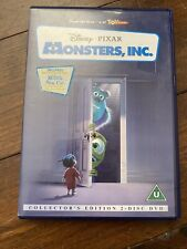 Monsters Inc Collector's edition 2 disc DVD