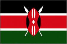 Kenya house flag 5x3 kenyan east africa Nairobi
