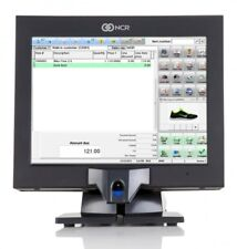 NCR P1530 POS Touchscreen Terminal 7754 w/New Glass,Biometric,120gb SSD