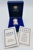 1996 Vintage English Halcyon Days Mickey Classic Enamels Disney Minnie Mouse Box