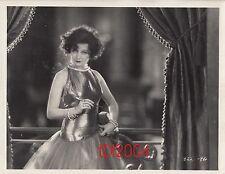 "GRETA NISSEN Vintage Original Photo LINEN BACK 1926 ""THE LUCKY LADY"" Slinky Gown"
