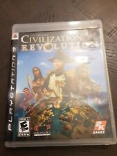 Sid Meier's Civilization Revolution (Sony PlayStation 3, 2008) Complete. Tested!