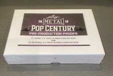 2019 LEAF METAL POP CENTURY Pre Production Proof Factory Sealed Hobby Box 1/1