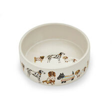 Cooksmart Best in Show Medium Pet Bowl Dog Feeding Dish Cute Pets Dogs Print