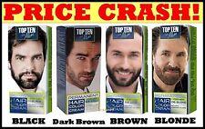 MEN COLOUR CREAM PERMANENT for BEARD & MOUSTACHE -Grey Hair Cover-up Dye 10 Min