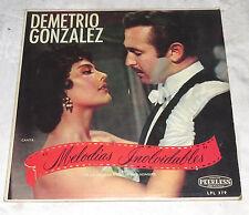 Demetrio Gonzalez Melodies Inolvidables LPL 379 Peerless